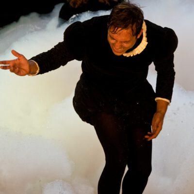 Shylock in DER KAUFMANN VON VENEDIG UND SEIN TRAUM VON WAS IHR WOLLT